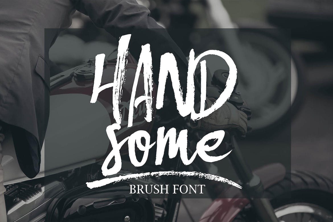 Handsome-Brush-Font