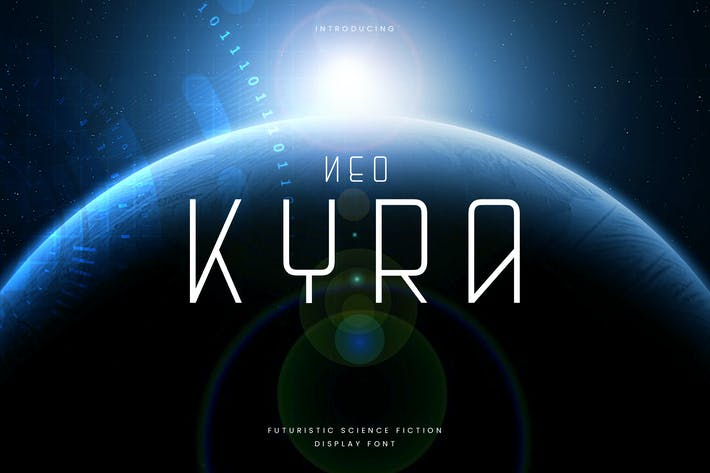 Neo Kyra - Technologie Science Font