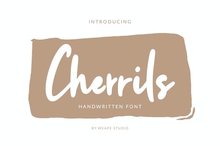 Cherrils - Police manuscrite