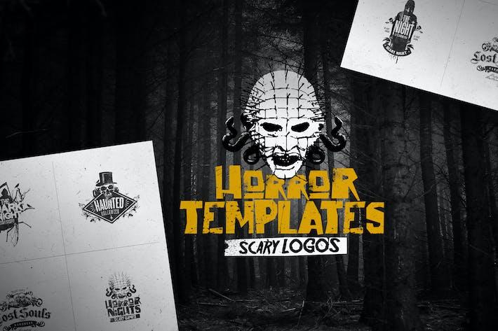 Thumbnail for Horror Logo Templates