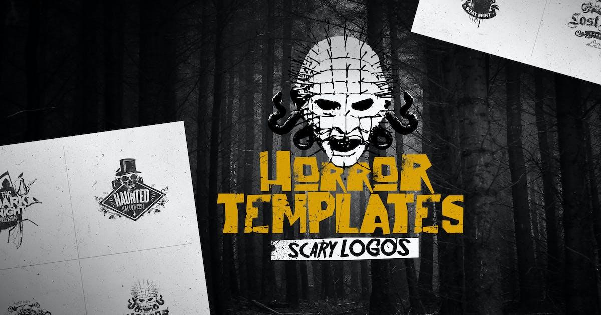 Horror Logo Templates by Easybrandz2