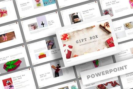 Geschenkbox - PowerpoinVorlage