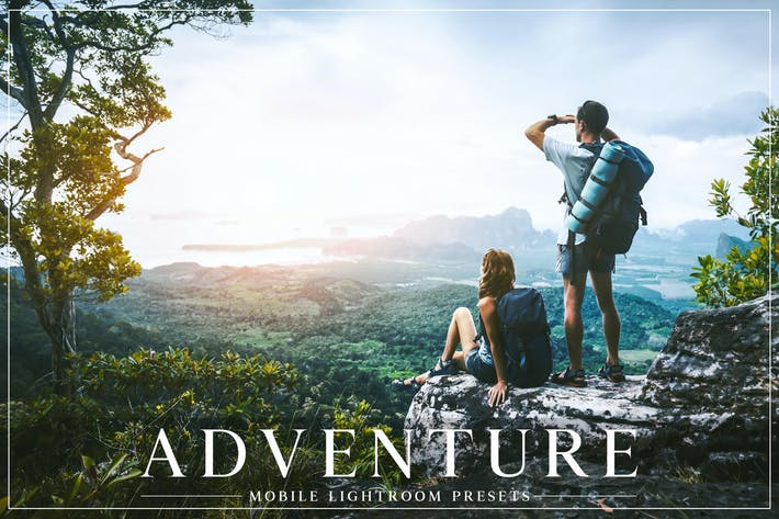 Thumbnail for Adventure Mobile Lightroom Presets