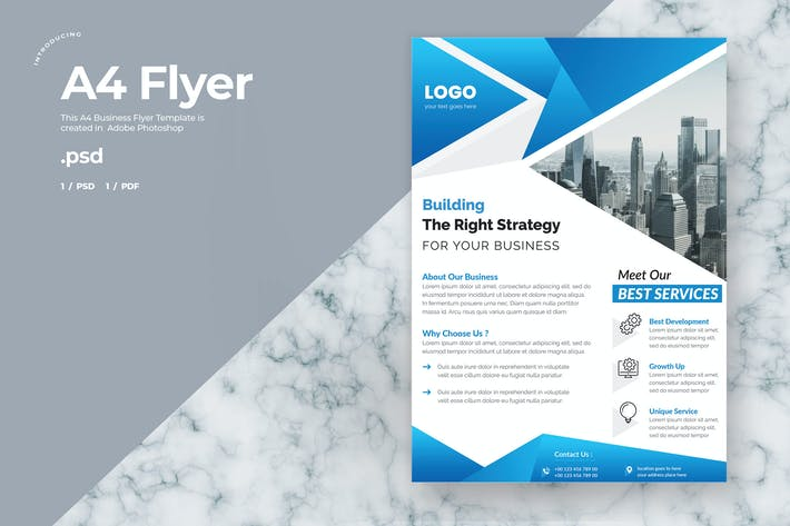 Corporate Flyer - A4