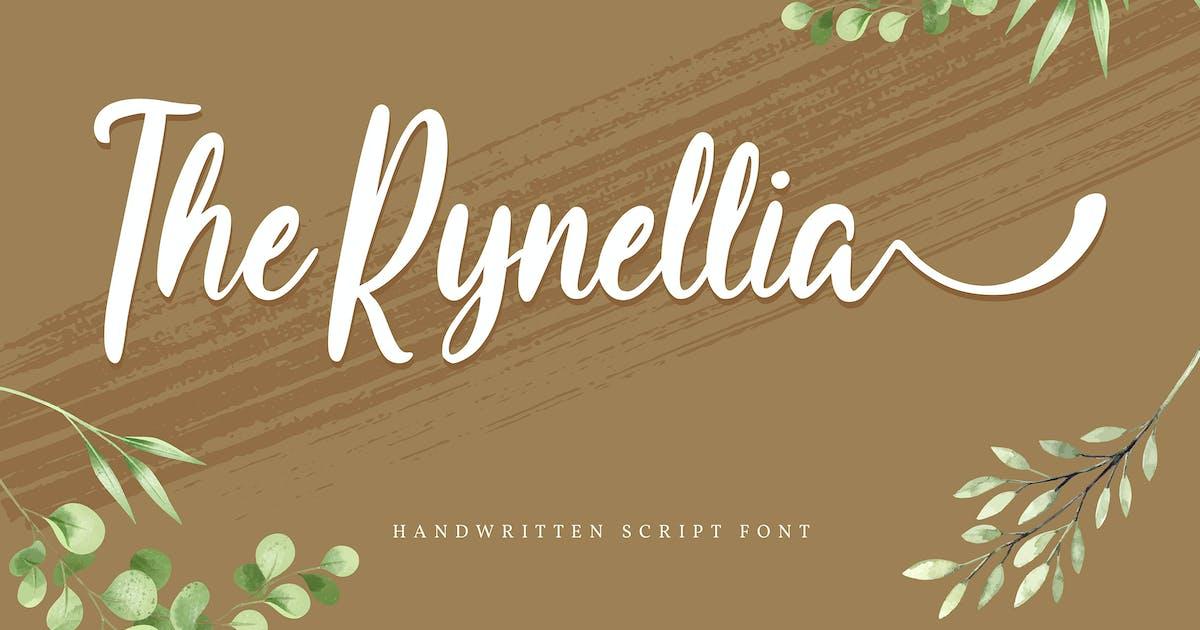 Download The Rynellia | Handwritten Script Font by Vunira