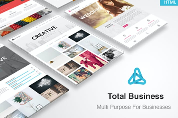 Thumbnail for Total Business - Multi-Purpose Business HTML Templ