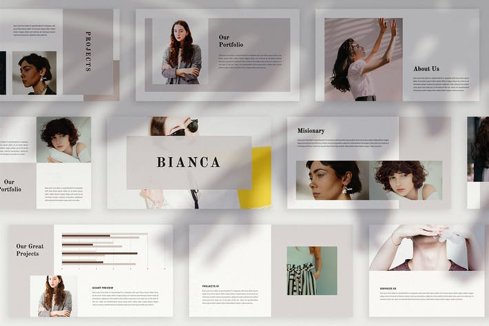 Thumbnail for BIANCA - Powerpoint Template