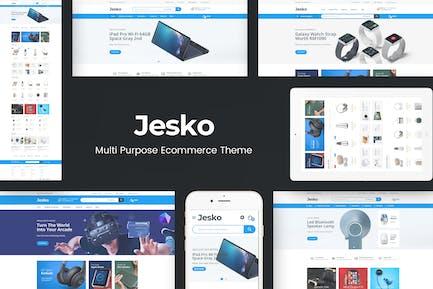 Jesko - Digital Responsive OpenCart Theme