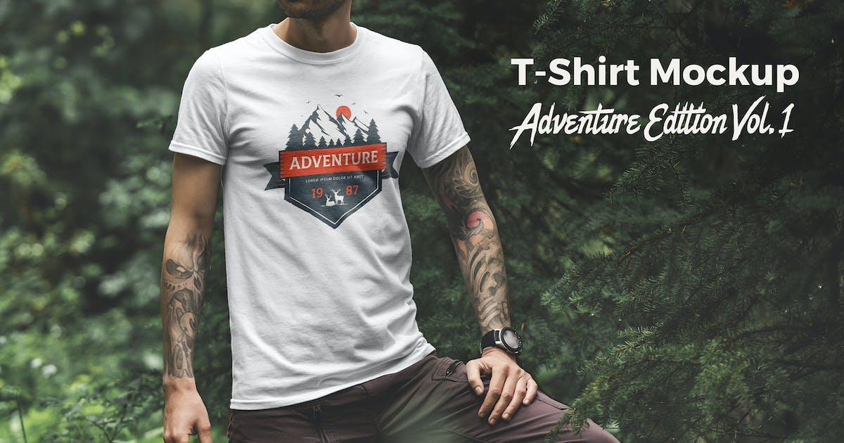 T-Shirt Mockup Adventure  Edition Vol. 1 by Genetic96