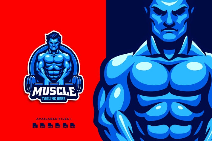 Thumbnail for Muscle Crossfit Logo