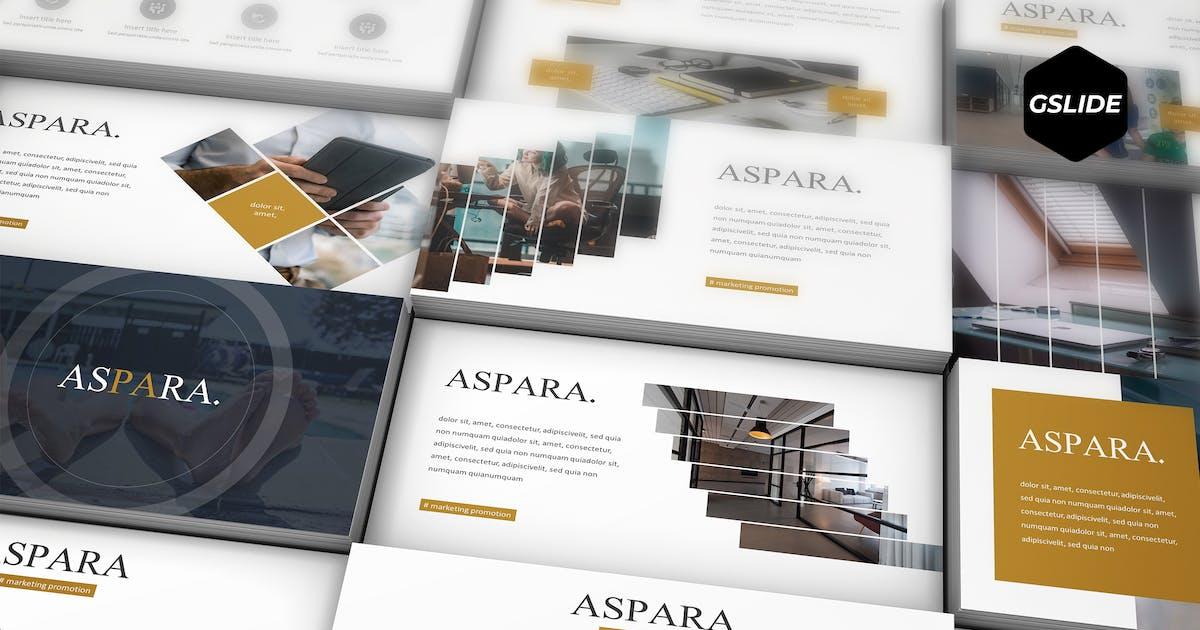 Download Aspara -  Google Slides Template by aqrstudio