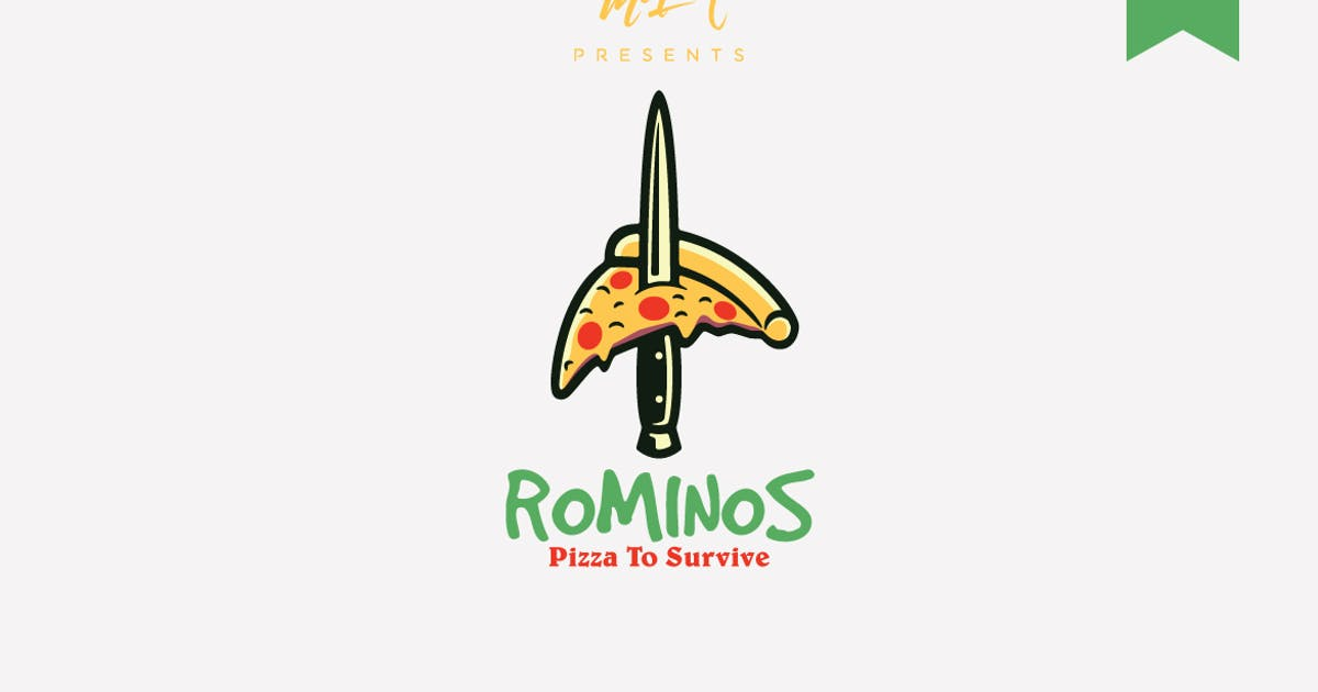 Download Rominos Logo Template by Ijajil