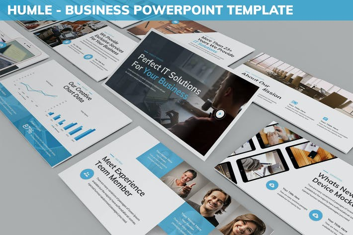 Thumbnail for Humle - Business Powerpoint Template