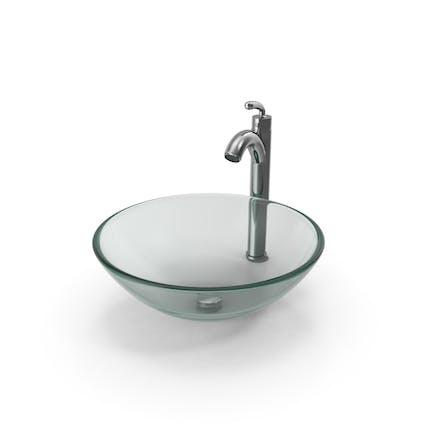 Lavabo de baño contemporáneo