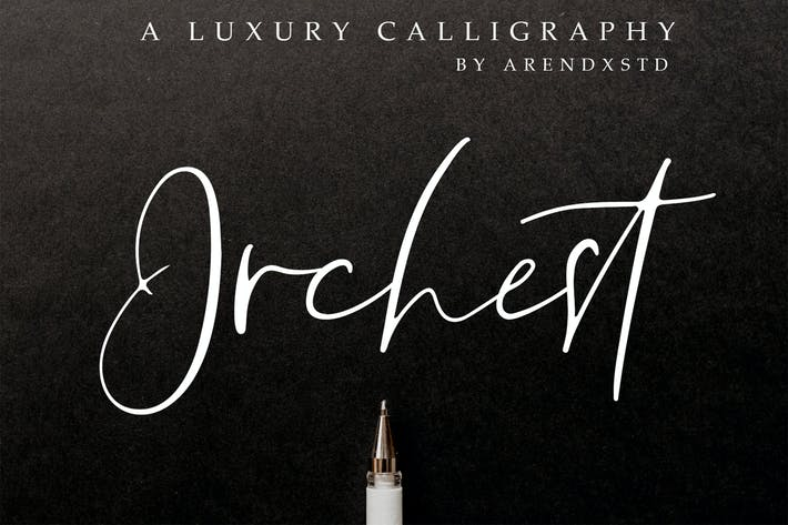 Thumbnail for Orchest Luxury Caligrafía Fuente