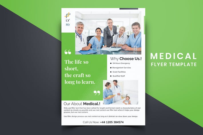 Thumbnail for Medical Flyer Template-06