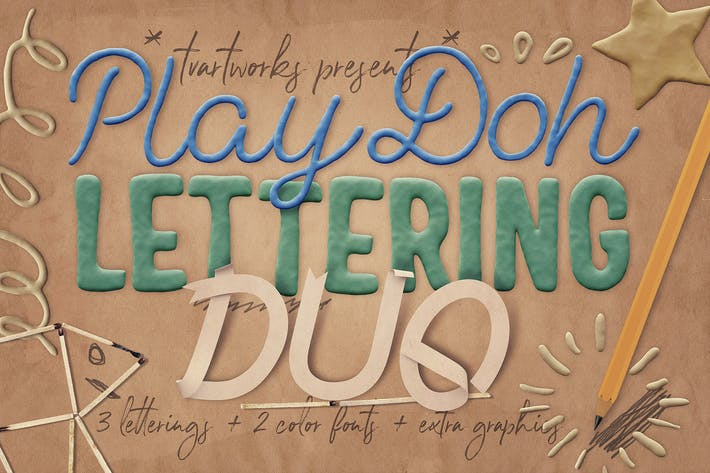 Thumbnail for Play-Doh Lettering Duo