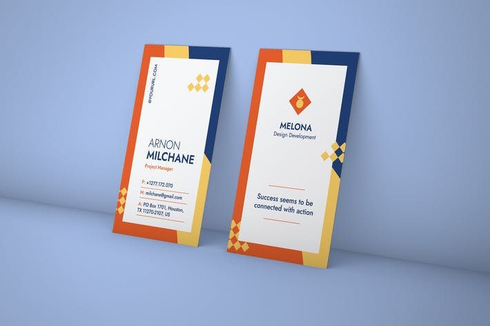 Thumbnail for Business Card PSD Template