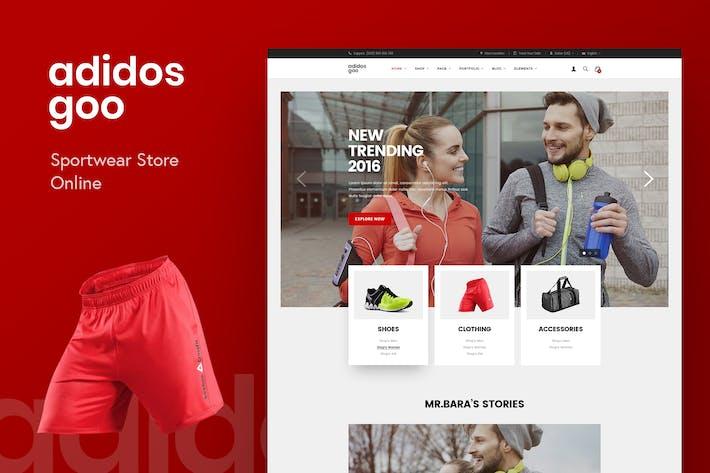 Thumbnail for Adidosgoo - Sportwear Store Online PSD