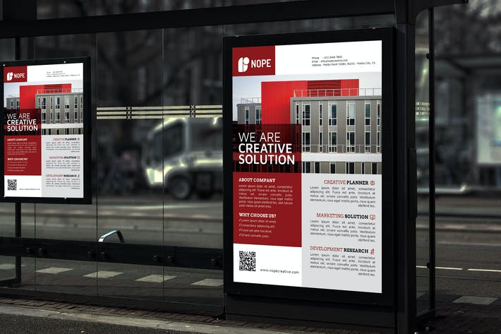 Thumbnail for Nope Creative Solution - Business Poster RB