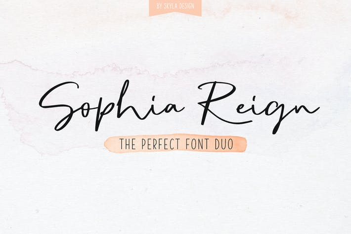 Thumbnail for Sophia Reign duo de polices signature