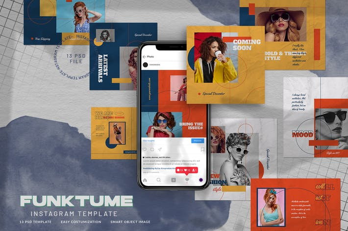 Funktume Instagram Stories 80er Retro Fashion