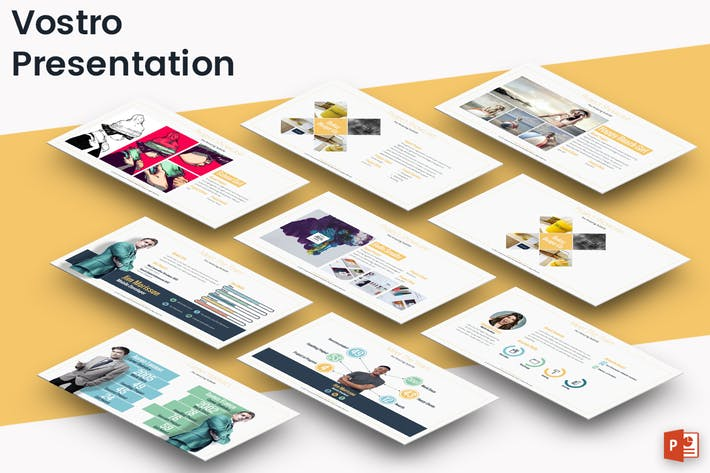 Thumbnail for Vostro - Powerpoint Template