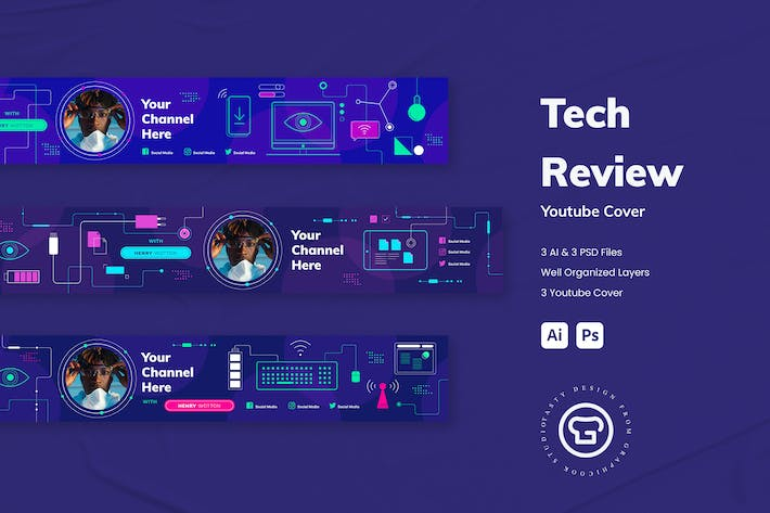 Tech Review Youtube Cover