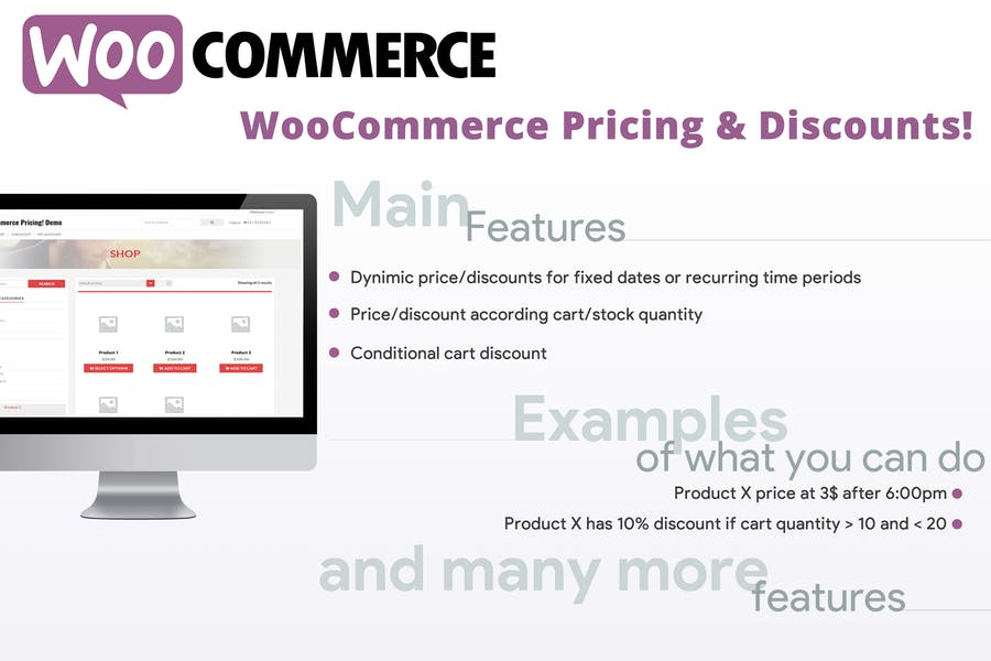 WooCommerce Pricing & Discounts!