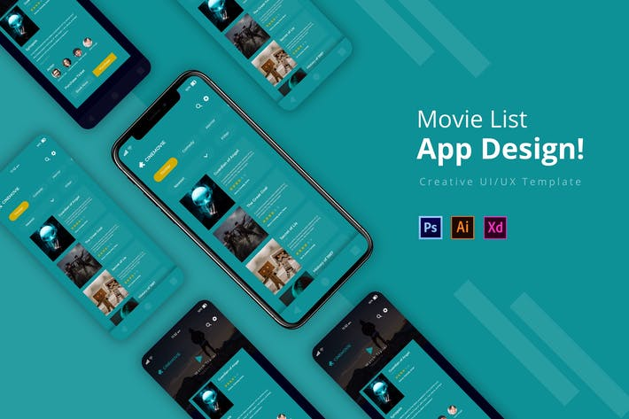 Thumbnail for MovieList App