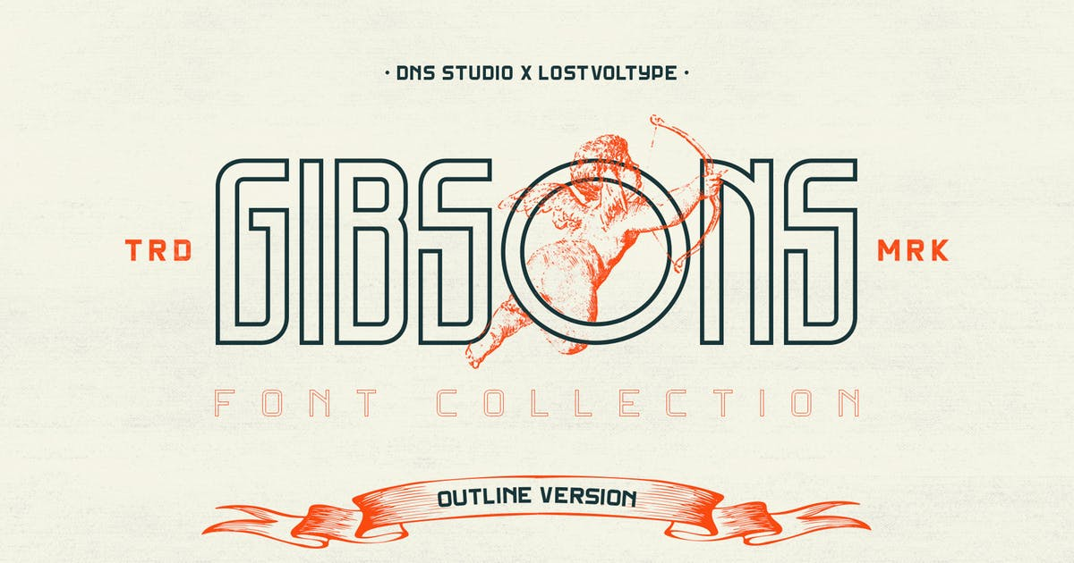 Gibsons Outline by Lostvoltype