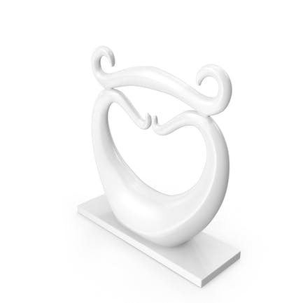 Abstract Statuette