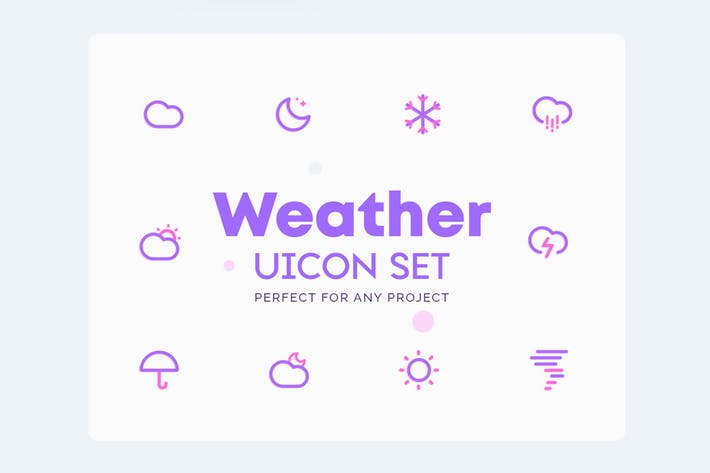 Thumbnail for UICON Weather Icons