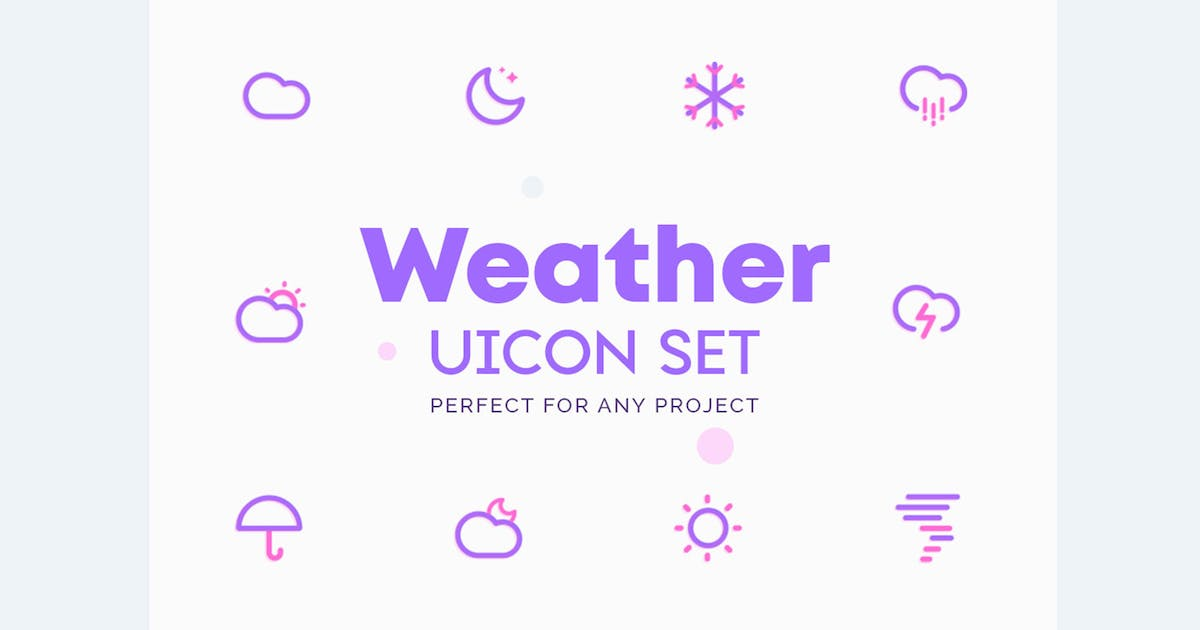 Download UICON Weather Icons by NEWFLIX