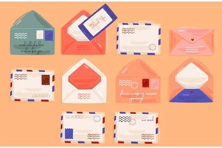 Envelope Set illustration