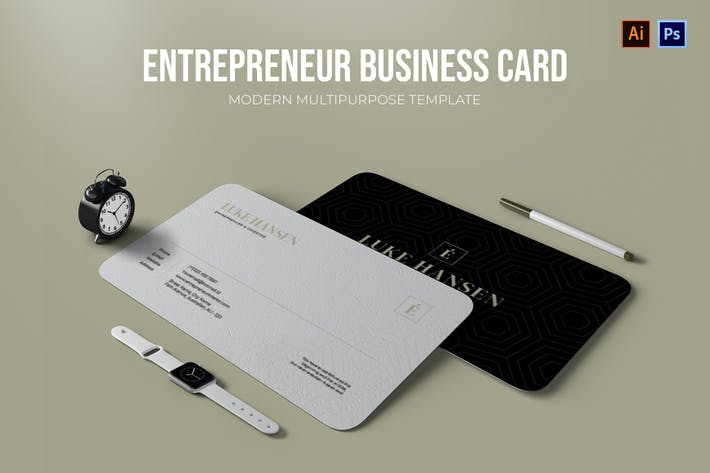 Thumbnail for Entrepreneur - Business Card