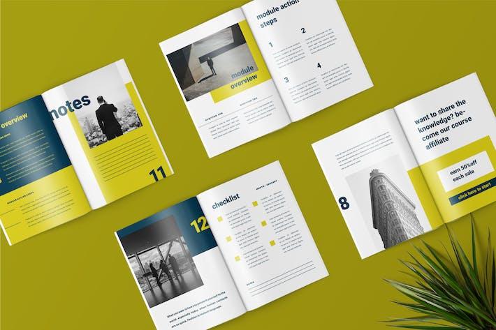 Thumbnail for Dovva - Minimalist Workbook Template