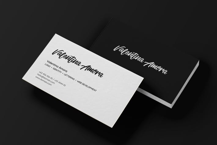 Thumbnail for Minimal Freelance Business Card