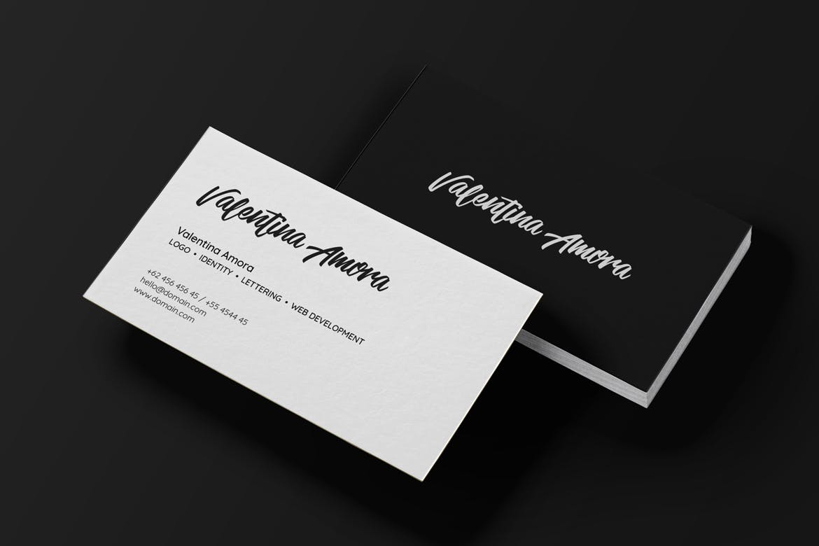 Minimal-Freelance-Business-Card
