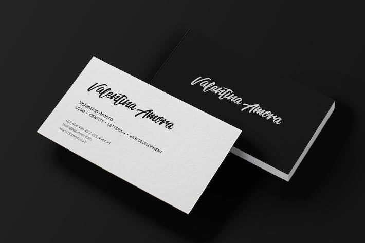 cover image for minimal freelance business card - Freelance Business Cards