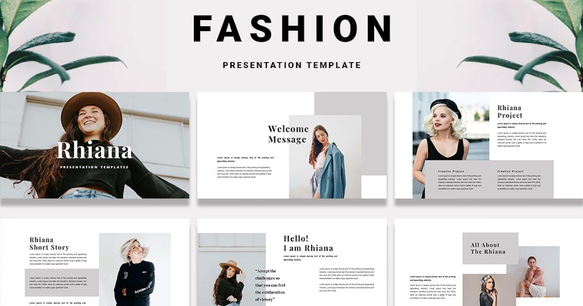 Download Rhiana - PowerPoint Template by alonkelakon
