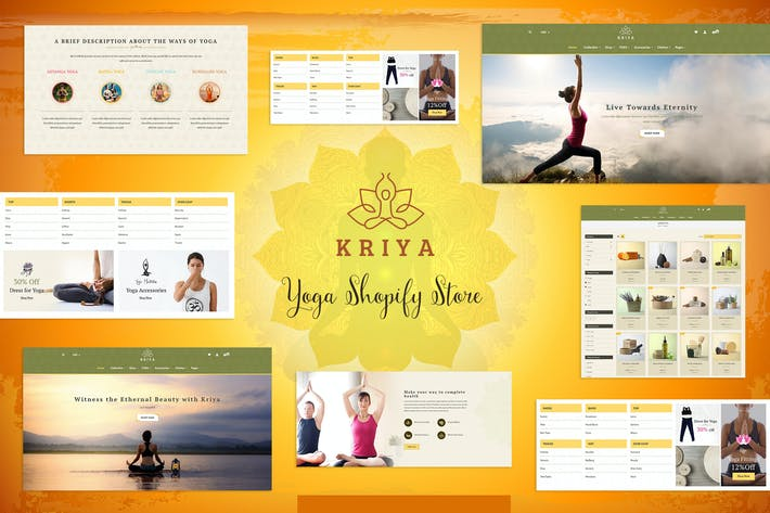 Thumbnail for Kriya - Yoga Shopify Store, Pilates Shop Theme