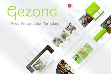 Gezond Food Creative PowerPoint Template