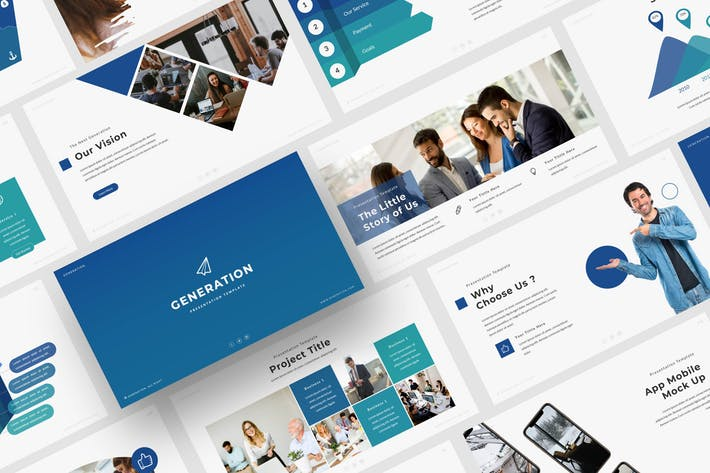 Thumbnail for Generation - Powerpoint Template