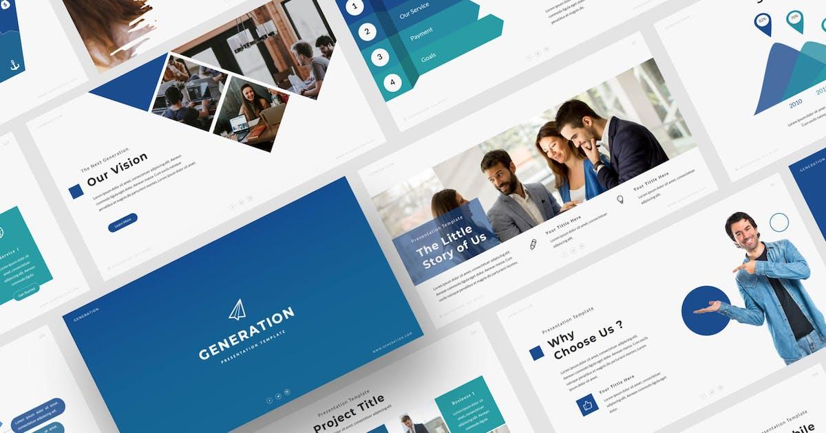 Download Generation - Powerpoint Template by axelartstudio