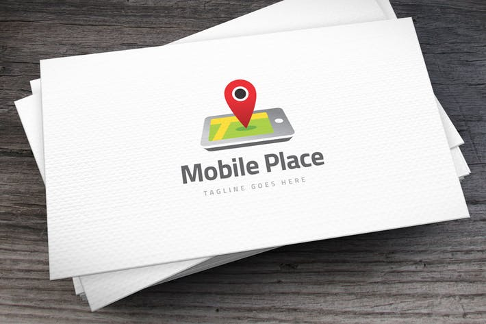 Thumbnail for Mobile Place Logo Template