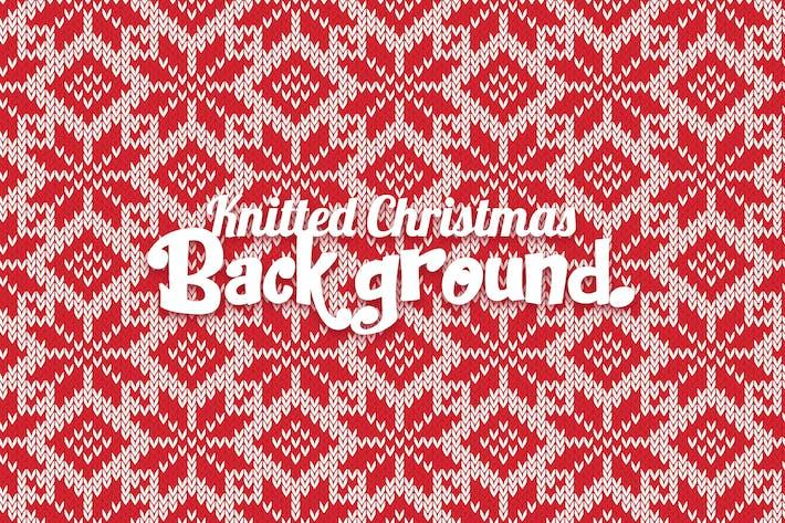 Thumbnail for Weihnachts-Hintergrund gestrickt
