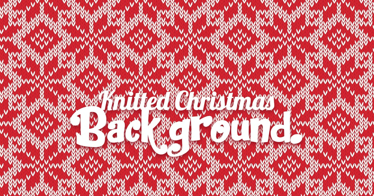 Download Knitted Christmas Background by YummyDs