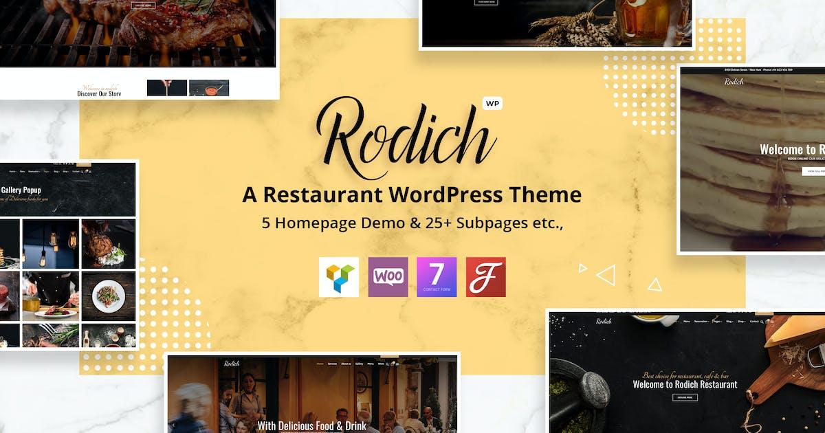 Download Rodich - A Restaurant WordPress Theme by VictorThemes