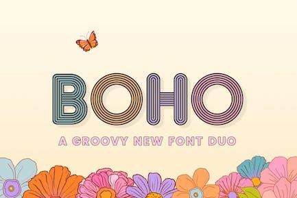 Boho Font Duo